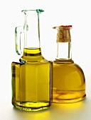 Two Bottles of Oil