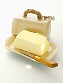 Butter in a Butter Dish