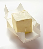 A Cube of Unwrapped Butter
