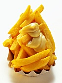 Thick Cut Fries with Mayonnaise