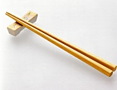 Wooden Chopsticks with Holder