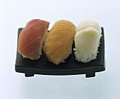 Three Nigiri Sushi