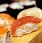 One Nigiri Salmon Sushi