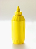 Yellow Mustard in a Squeeze Bottle