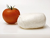 Mozzarella Cheese with a Tomato