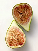 Two Fig Halves