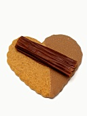 Chocolate Heart Cookie