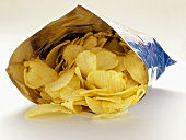Ruffled Potato Chips in a Bag