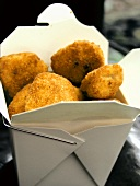 Chicken Nuggets in Fast-Food-Box