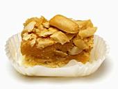 Peanut & toffee pastry