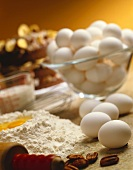 Fresh Ingredients; Eggs and Flour