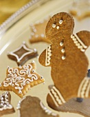 Gingerbread Man Cookie with Christmas Cookies