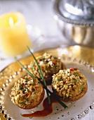 Stuffed Mushroom Hors d'Oeuvres