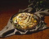 Pasta with Pine Nuts and Porcini Mushrooms