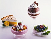 Four Assorted Desserts