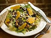 Mandarin Orange Salad with Candied Pecans