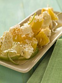 Exotic Fruit Kabobs with Coconut