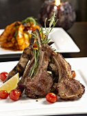 Grilled Lamb with Rosemary