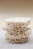 A stack of rice cakes
