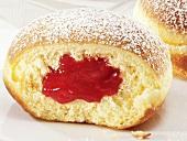Jam-filled doughnuts
