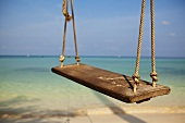 A swing on the beach in Thailand