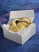 Half-moon shaped 'Friesenplatz' cookies