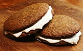Two Homemade Moon Pies