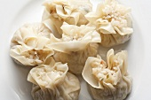Chinese Shumai Dumplings Filled with Sticky Rice