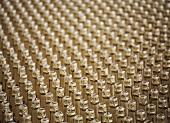 Bottles of champagne (macro-zoom)