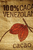 Burlap Cocoa Bag from Venezuela