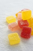 Candy Fruit Jellies on Sugar
