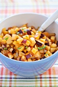 Bowl of Stone Fruit Salsa