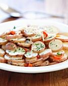 Insalata di patate (Italian potato salad)
