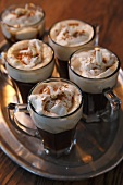 Mini Irish coffees