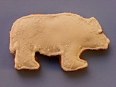 Gingerbread polar bear