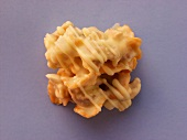Almond cluster with white chocolate