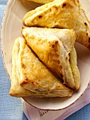 Puff pastry parcels filled with pumpkin
