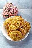 Florentine biscuits for Valentine's Day