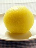 A potato dumpling