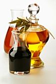 Olivenöl, Sesamöl und Aceto balsamico