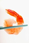 Shrimp on chopsticks