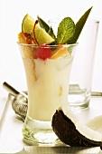 Coconut milk cocktail (Pina Colada)