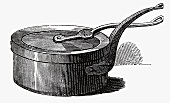 Old casserole (Illustration)