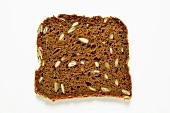 A slice of wholemeal bread