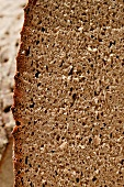 Farmhouse bread, slices cut (detail)
