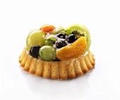 Mixed fruit tartlet