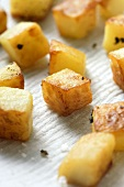 Fried diced potatoes