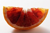 Wedge of blood orange