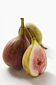 Whole figs and half a fig