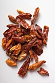 Dried Tabasco chillies